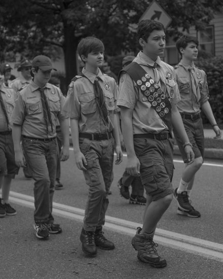 Joshua Lutz, Boy Scouts of America