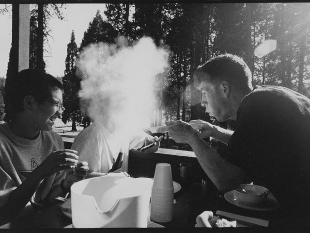 Ed Templeton, Untitled (Blowing Smoke), 2006