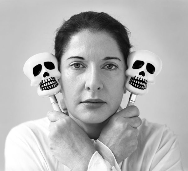 Marina Abramovic, Self Portrait with Maracas, New York