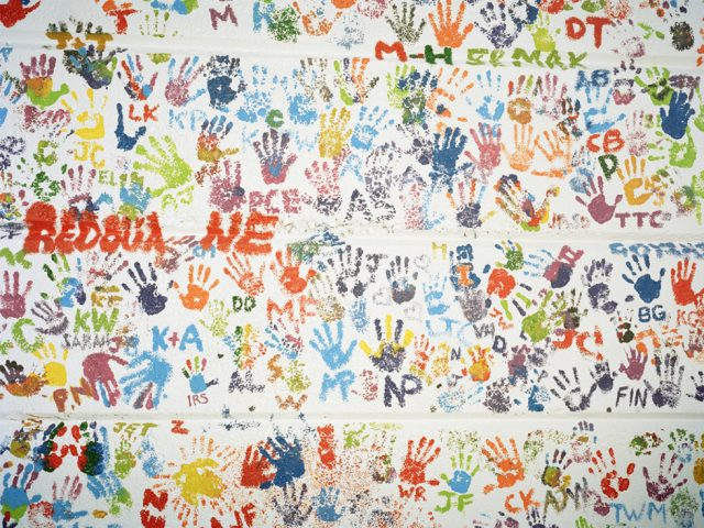 Nicholas Bridges, Untitled (Handprints)