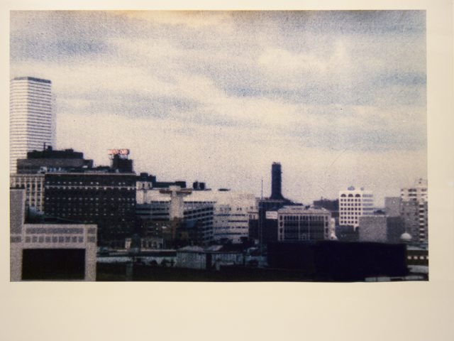 Mark Morrisroe, Dismal Boston Skyline, 1986