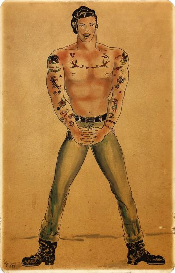 Sam Steward [Phil Sparrow], Tattooed Man