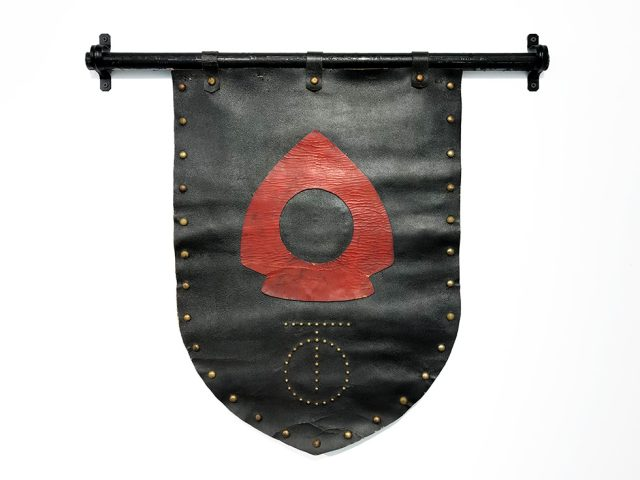 Leather Banner from The-Spike-arrow-and-rivets-980