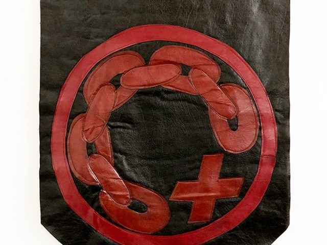 Leather Banner from The Spike