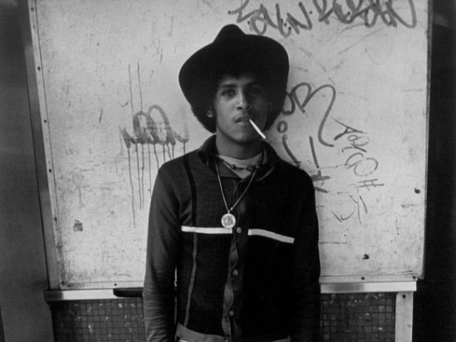 Larry Clark, Untitled (Hustler with Cigarette in Hand and Mouth)