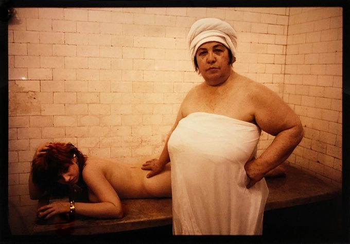Nan Goldin, Lydia Lunch Russian baths, New York