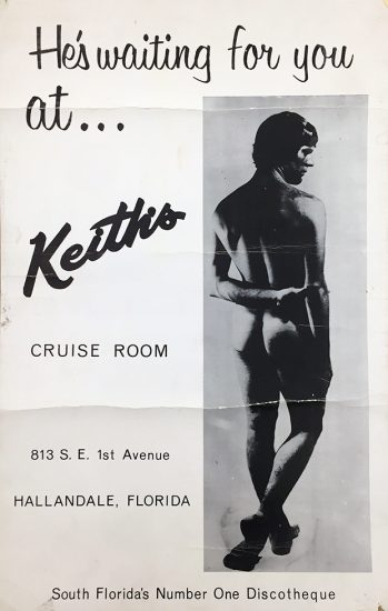 Keith's Cruise Room, He's Waiting for You At...