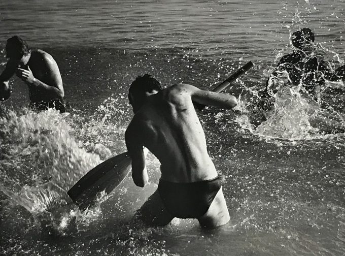 Herbert List, Men in North Sea, Germany