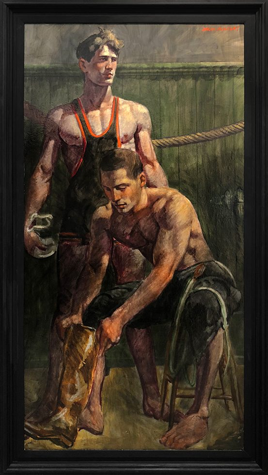 [Bruce Sargeant (1898-1938)] Getting Dressed After the Match