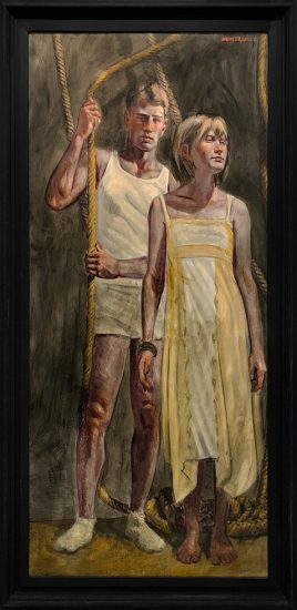 Mark Beard, [Bruce Sargeant (1898-1938)] Man with Woman in a Yellow Dress