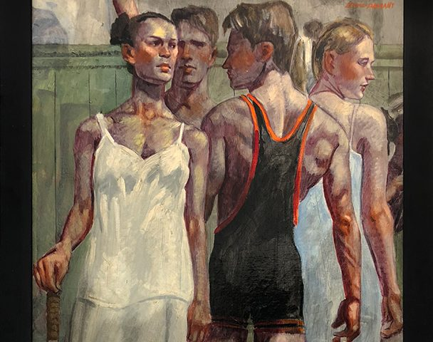 Mark Beard, [Bruce Sargeant (1898-1938)] Tennis Whites and Wrestling Singlet
