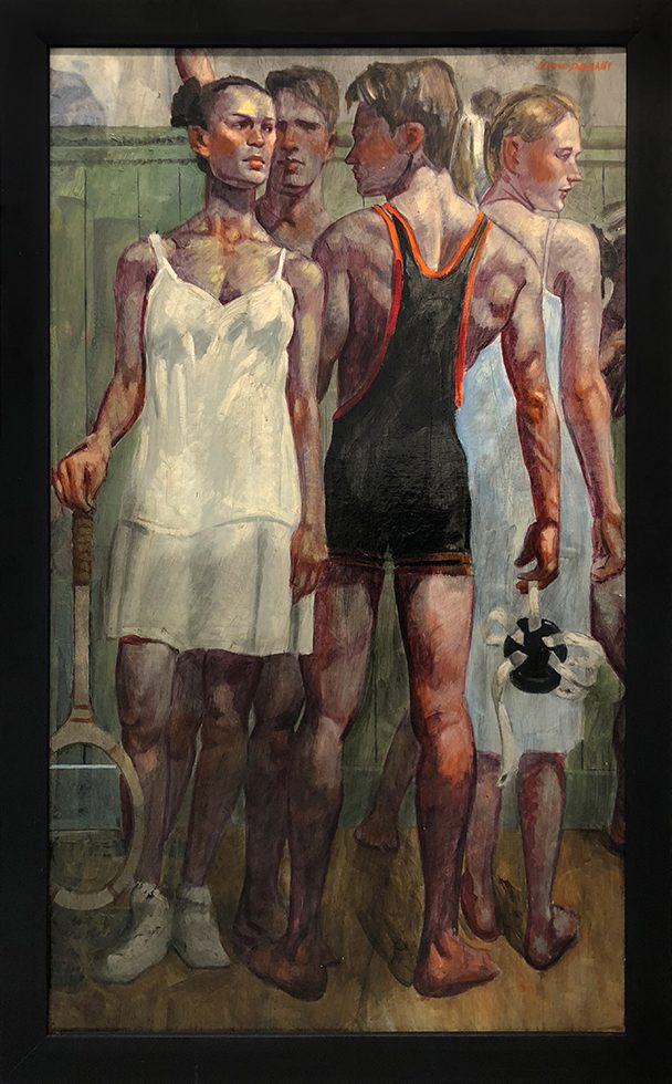 [Bruce Sargeant (1898-1938)] Tennis Whites and Wrestling Singlet
