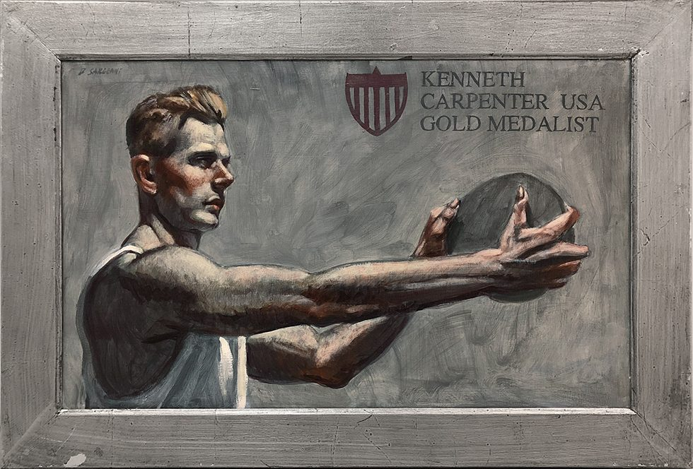 [Bruce Sargeant (1898-1938)] Kenneth Carpenter, Gold Medalist