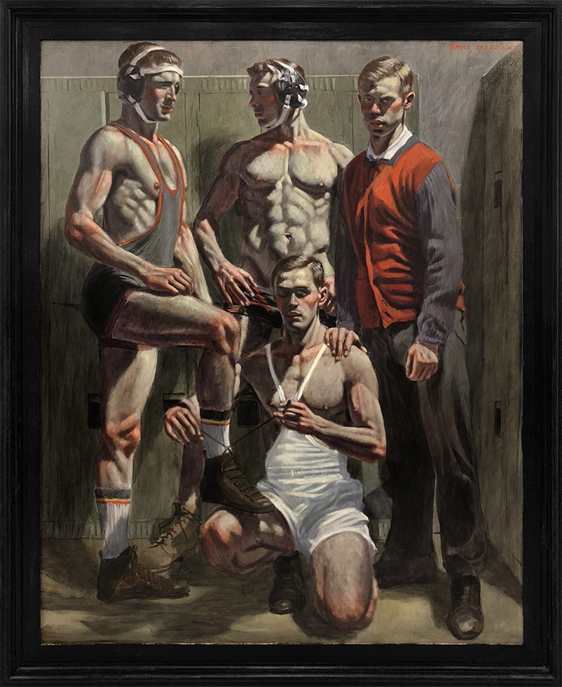 [Bruce Sargeant (1898-1938)] Champion Wrestling Team