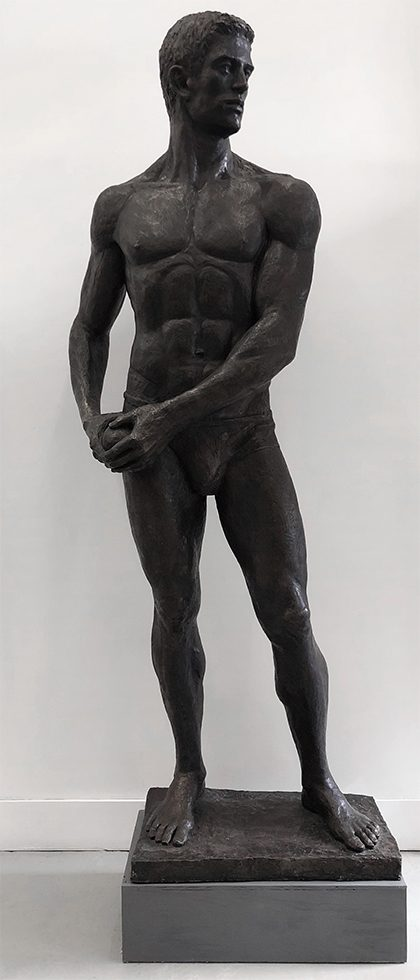 [Bruce Sargeant (1898-1938)] Statue of an Athlete