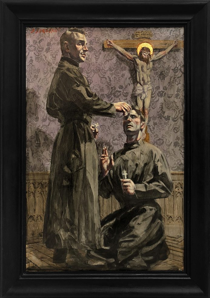 [Bruce Sargeant (1898-1938)] Two Priests Alone in Their Room