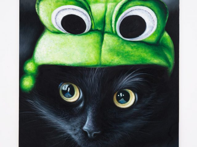 Daniel Handal, Frog Kitty (Black/Ebony)