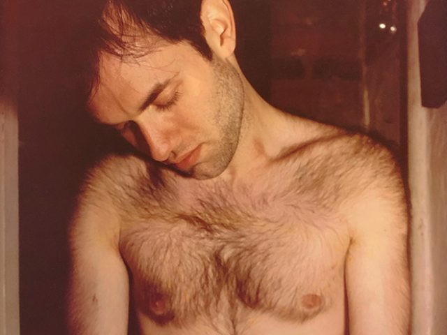 Nan Goldin, Bobby masturbating, New York City [Bobby at home]