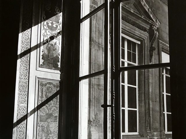 Bruce Cratsley, Louvre Window, Paris