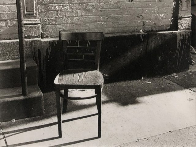 Bruce Cratsley, The Empty Chair