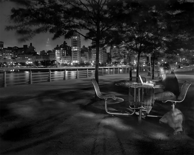 Matthew Pillsbury, Leslie & Ella on the Hudson, Wednesday, May 31st, 9:26-9:47 p.m.