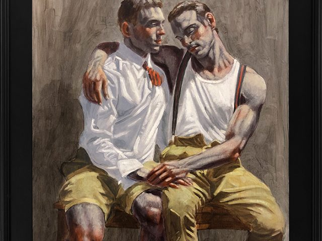 Mark Beard, [Bruce Sargeant (1898-1938)] Two Friends Sitting Together