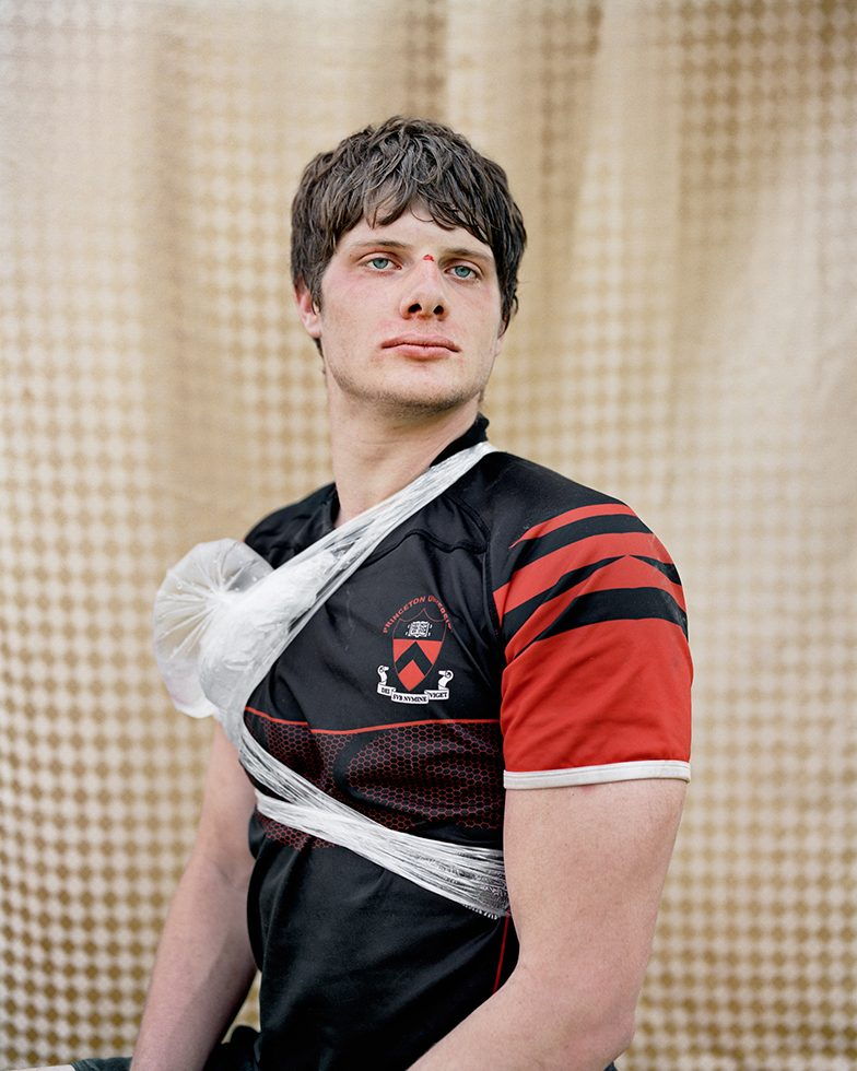 Zak (Second Row, University Team Captain), Princeton, NJ, 2010 [Princeton University]