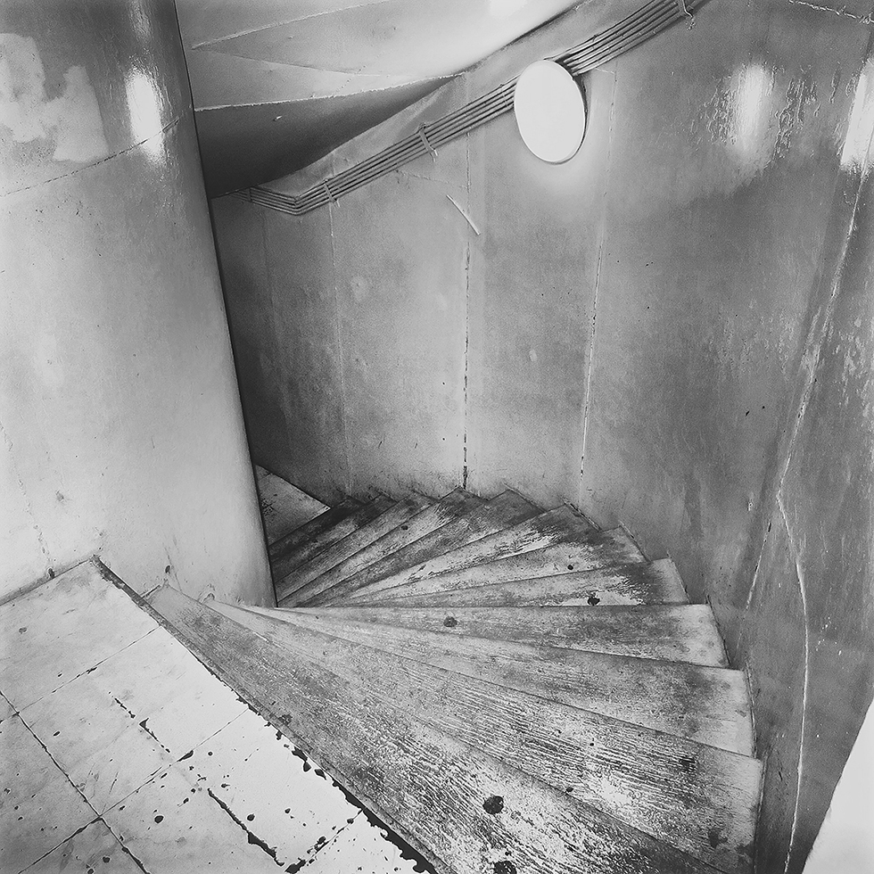 Staircase to Bunker Tunnels, Unification Palace