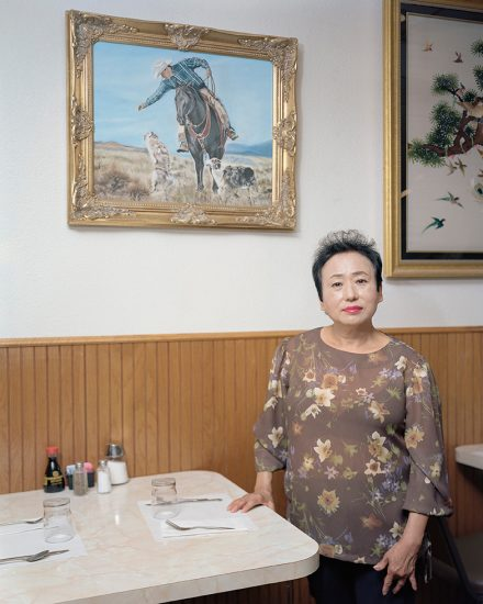 Andong Zheng, Mrs. Wang (With Her Painting)