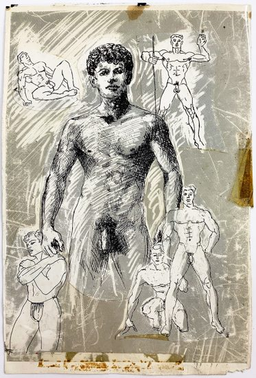 John S. Barrington, Figure Studies collage