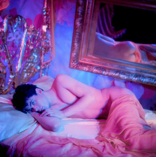 James Bidgood, Bobby Lying in Bed