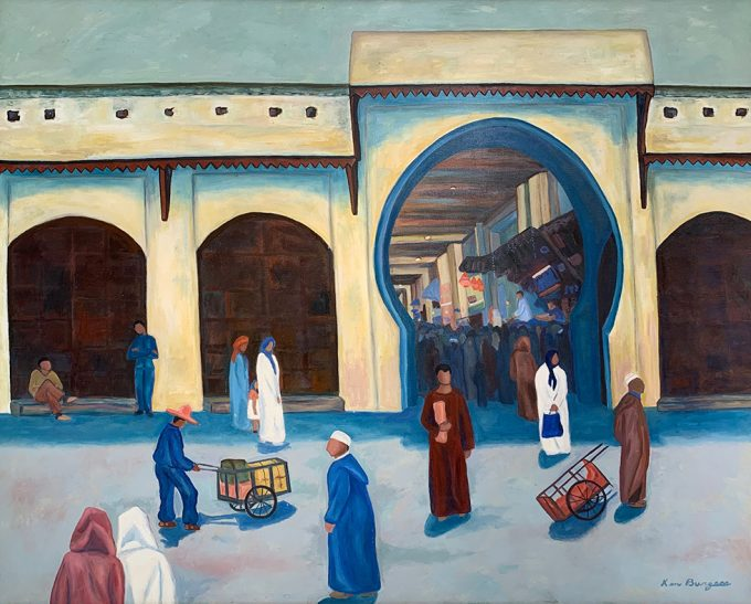 Kenny Burgess, A Square Outside Meknes