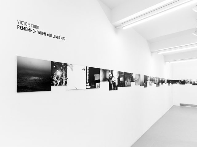 """Victor Cobo, """"Remember When You Loved Me?"""" Installation Image I"""