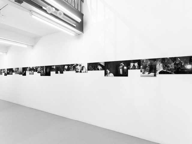 """Victor Cobo, """"Remember When You Loved Me?"""" Installation Image II"""