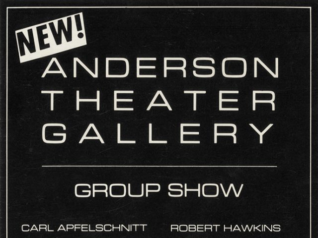 Greer Lankton, Invitation to group show at Anderson Theater Gallery