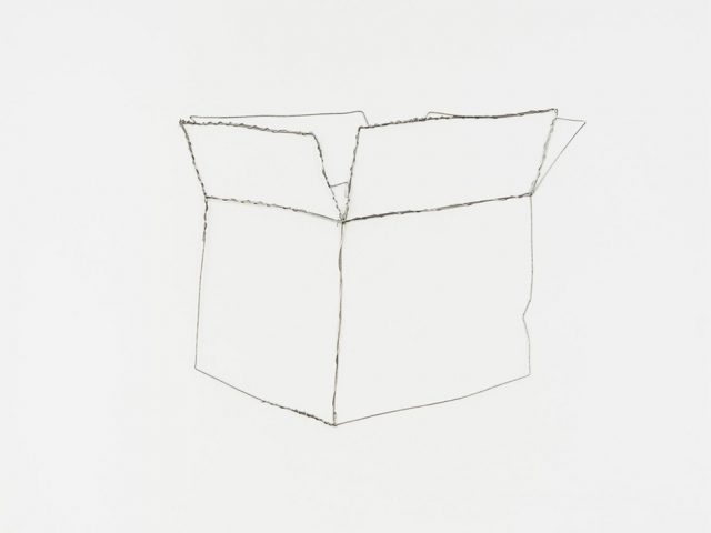 "Vik Muniz, Paper Box (from ""Pictures of Wire"")"