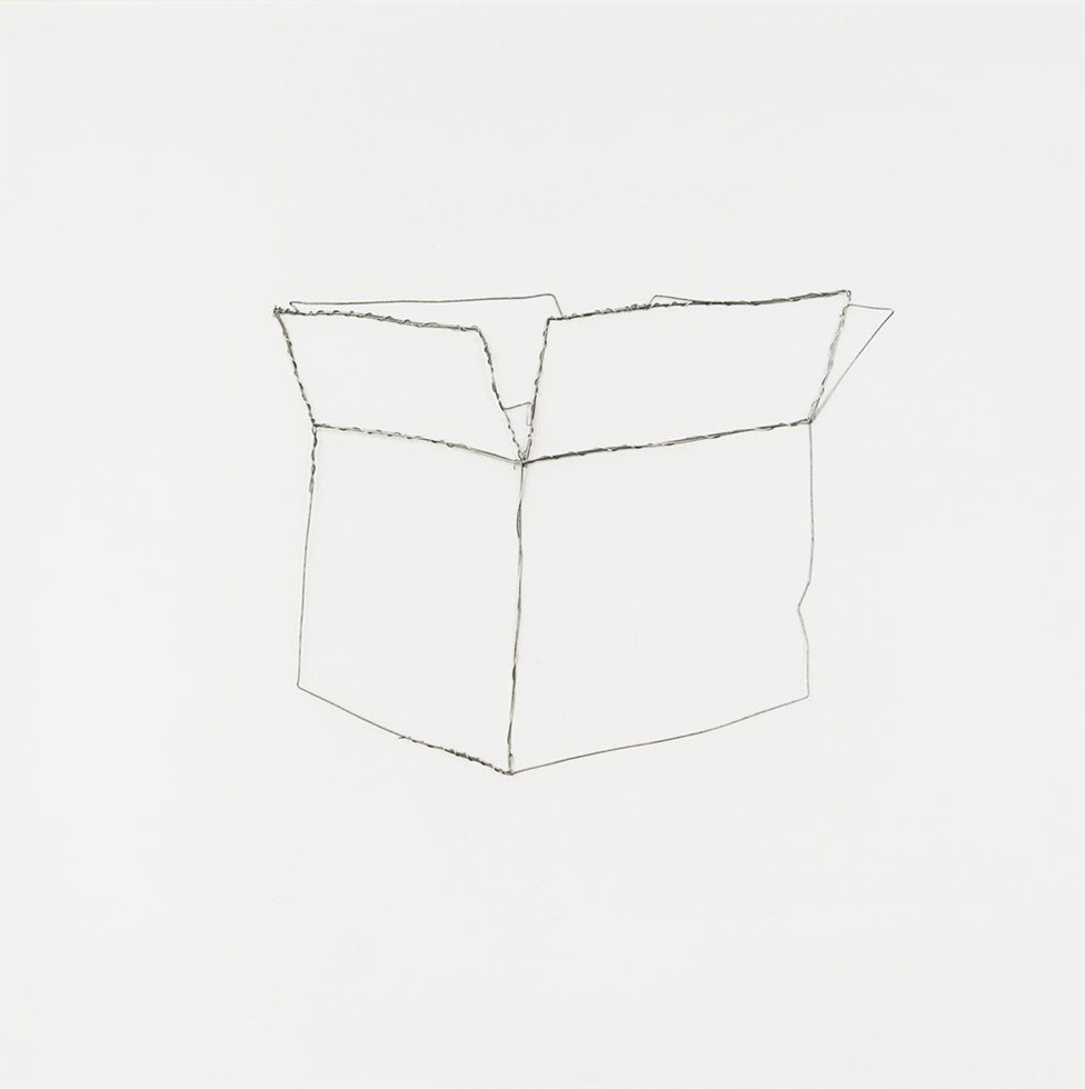 """Paper Box (from """"Pictures of Wire"""")"""