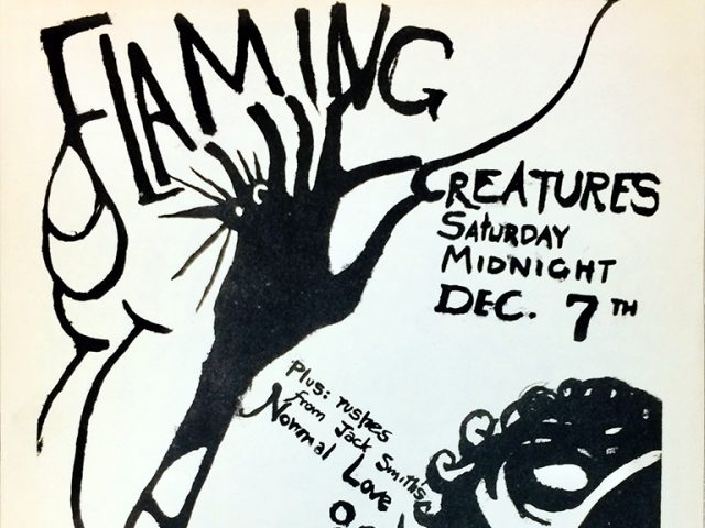 Jack Smith, Flaming Creatures flyer