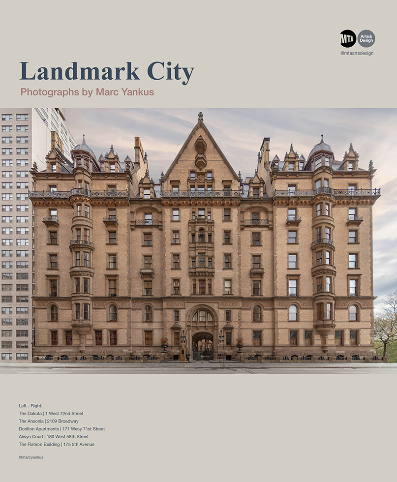 "Marc Yankus' ""Landmark City"" on view in Grand Central Station, NYC"