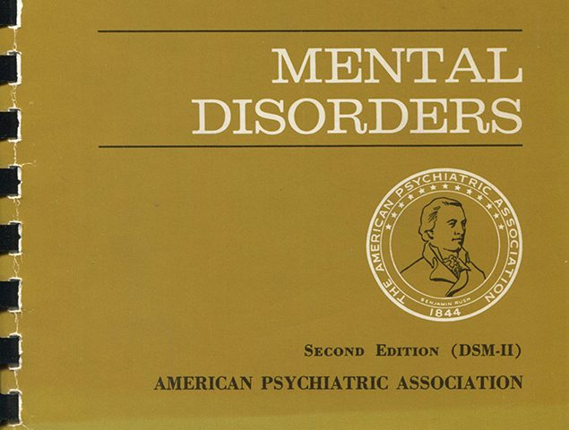 American Psychiatric Association, Diagnostic and Statistical Manual of Mental Disorders