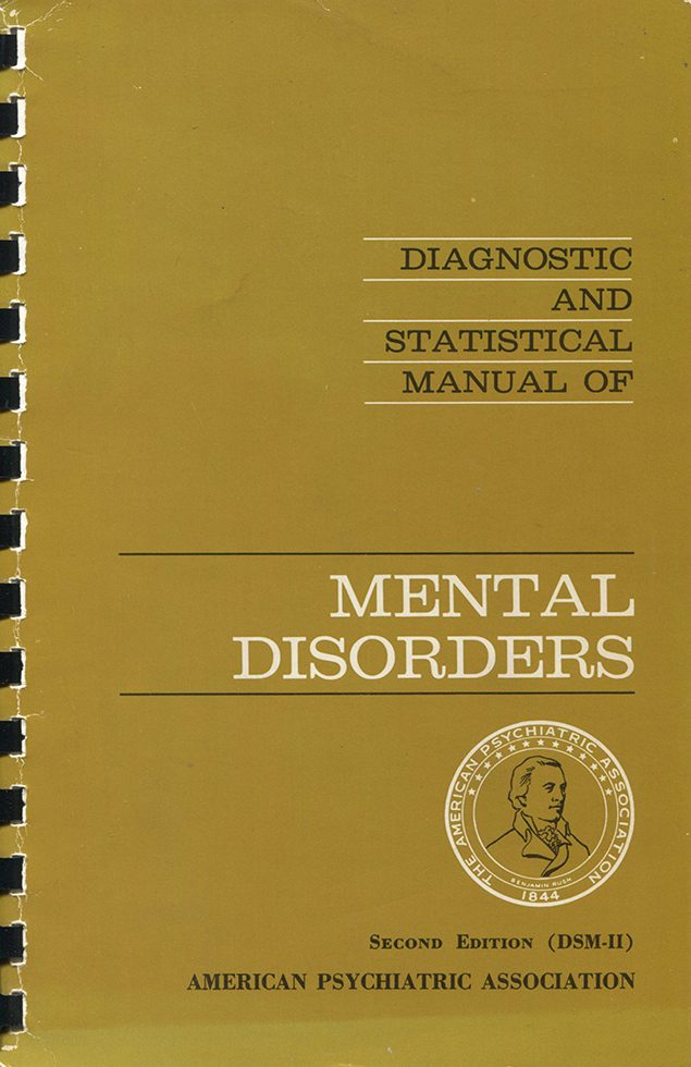 Diagnostic and Statistical Manual of Mental Disorders