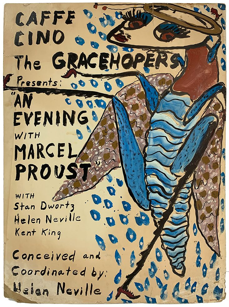 "Kenny Burgess, ""The Gracehopers presents 'An Evening with Marcel Proust"""