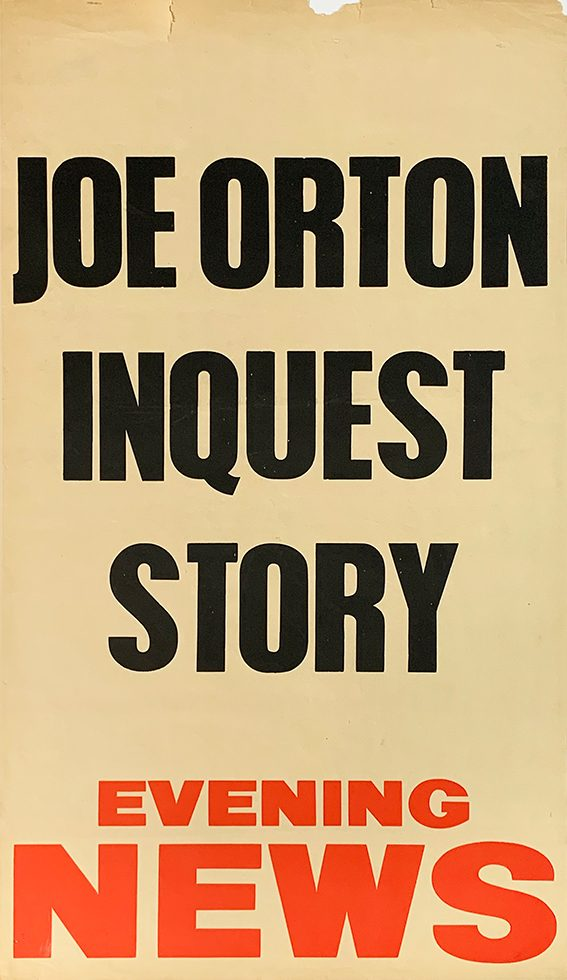 Joe Orton Inquest Story