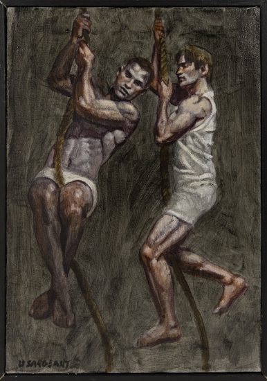 [Bruce Sargeant (1898-1938)] Two Men on Ropes