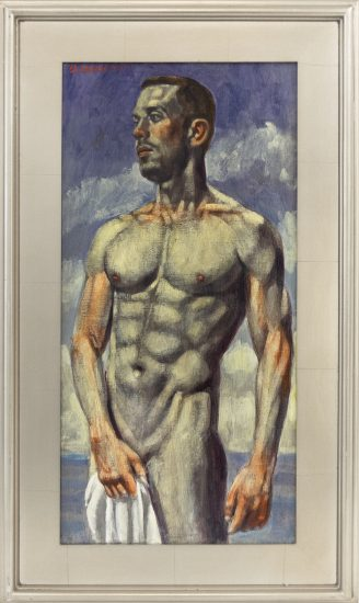 Mark Beard [Bruce Sargeant (1898-1938)] Man with Towel_980