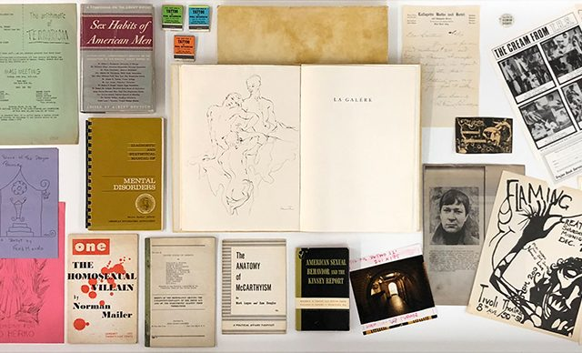 Sex Crimes, Installation Image XI, Display Table Overview