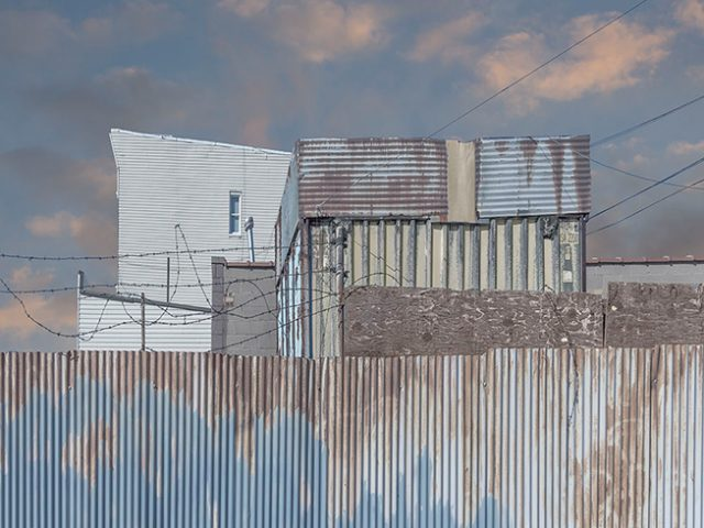 Marc Yankus, Fence in Greenpoint