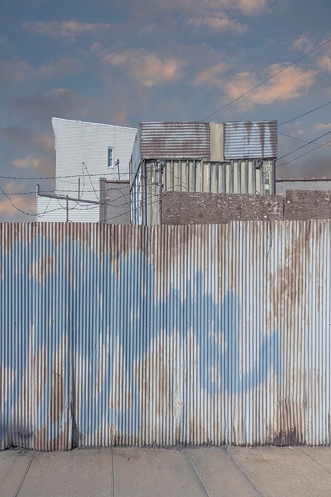 Fence in Greenpoint