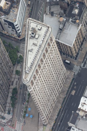 Marc Yankus, Flatiron from Above