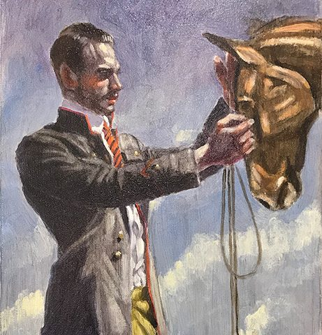 Mark Beard, [Bruce Sargeant (1898-1938)] A Man and His Horse
